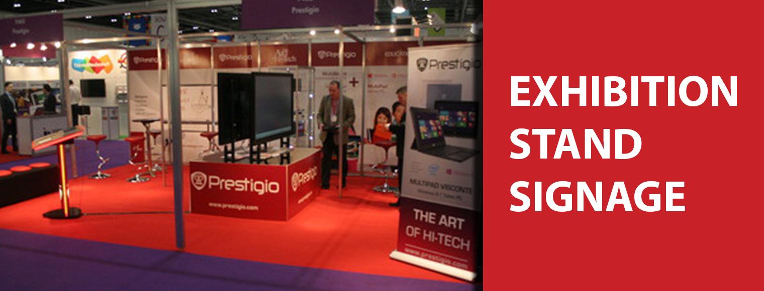 Exhibition Stand Design Northern Ireland : Signwest sign suppliers ireland prestigio